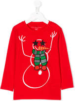 Stella McCartney snowman patch sweatshirt