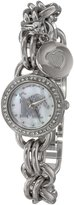 Game Time Women's COL-CHM-MEM Charm College Series Collegiate 3-Hand Analog Watch