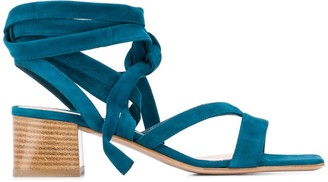 Gianvito Rossi Dalian wrap-around sandals