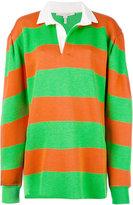 Marc Jacobs long-sleeve rugby sweatshirt - women - Cotton/Nylon/Polyester/Tencel - M