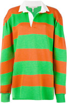Marc Jacobs long-sleeve rugby sweatshirt - women - Cotton/Nylon/Polyester/Tencel - S