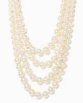 Charming charlie Four-Strand Pearl Necklace