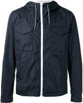 Fay hooded windbreaker jacket