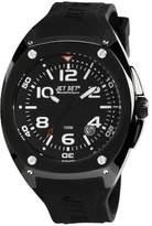 Jet Set J3282B - 267-Martinique Men's Watch Analogue Quartz Black Rubber Strap Black Dial