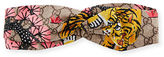 Gucci Bengal Tiger Silk GG Headband