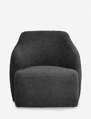 Lulu & Georgia Tobi Swivel Chair, Slate