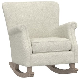 Pottery Barn Kids Minna Small Spaces Rocking Chair & Ottoman