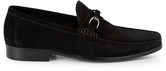 Saks Fifth Avenue Donnelly Perforated Suede Loafers