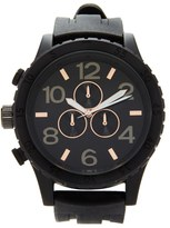 Forever 21 FOREVER 21+ Men Silicone-Strap Matte Watch