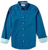 Original Penguin Core Gingham Slim-Fit Long-Sleeve Woven Shirt