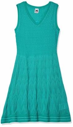 M Missoni Women's Solid Zig Zag Vneck Dress