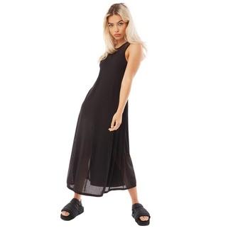 Y-3 Womens Engineered Knit Dress Black