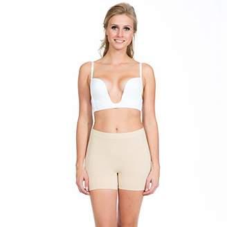 Magic Body Fashion MAGIC BODYFASHION Women's V Plunge Bra, (White 200), NA (Size:85C)