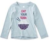 Tea Collection 'Soba' Graphic Tee (Toddler Girls, Little Girls & Big Girls)