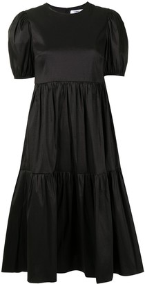 LIKELY Mid-Length Puff Sleeve Dress