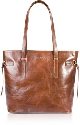 Chiarugi Genuine Leather Large Tote Bag