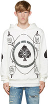Dolce & Gabbana White Ace of Spades Hoodie