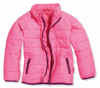 Playshoes Girl's Steppjacke uni Coat