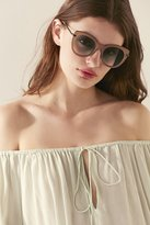 Urban Outfitters Metal Inlay Cat-Eye Sunglasses