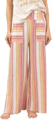 Rip Curl Golden Days Stripe Wide Leg Pants