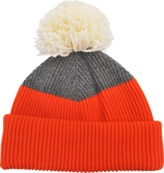 Inverni Tricolored wool beanie