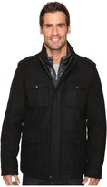 Dockers - Four-Pocket Military w/ Nylon Bib Men's Coat