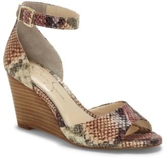 Jessica Simpson Cervena Wedge Sandal