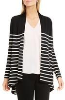 Vince Camuto Petite Women's Stripe Cardigan