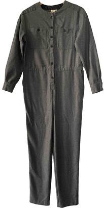soeur Grey Wool Jumpsuits