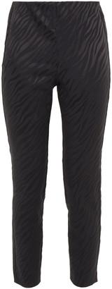 Rag & Bone Cropped Cotton-blend Satin-jacquard Slim-leg Pants