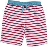 Egg by Susan Lazar Board Shorts (Toddler/Kid) - Red Stripe-8Y