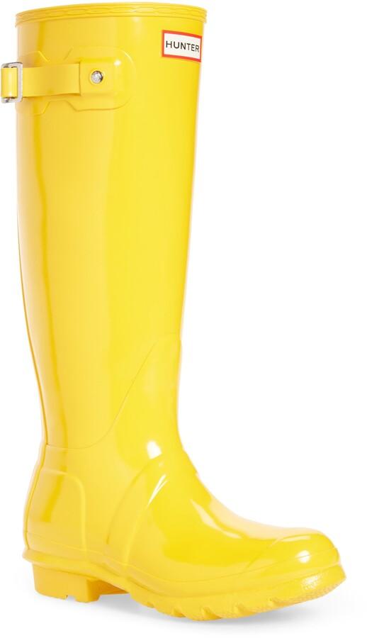 Hunter Yellow Women's Boots | Shop the