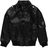 "Urban Republic Little Boys' ""Faux-Leather Mode"" Jacket - , 5-6"