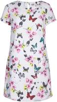 Yumi Butterfly & Floral Print Tunic
