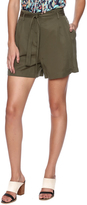 Dex Pleated Tie Shorts