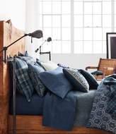 Ralph Lauren Artisan Loft Collection Moore Vintage Circle-Print Slub Cotton Comforter