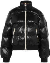 Acne Studios Cilla Quilted Shell Down Jacket - Black