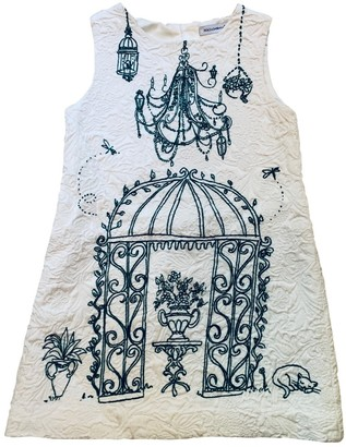 Dolce & Gabbana White Cotton Dresses