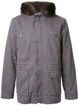Yves Salomon padded hooded jacket - men - Acrylic/Lyocell/Wool/Rabbit Fur - 48