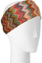 Missoni Mare Signature Zigzag Headband, Multicolor