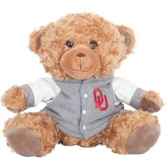 """Oklahoma Sooners 10"""" Varsity Bear"""