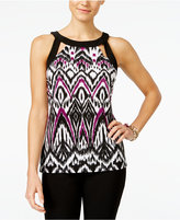 INC International Concepts Petite Cutout Halter Top, Only at Macy's