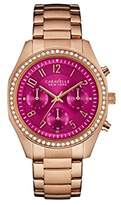 Bulova Women's Quartz Stainless Steel Casual Watch, Color:Rose Gold-Toned (Model: 44L223)