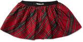 Ralph Lauren Girls' Plaid Pull-On Skirt