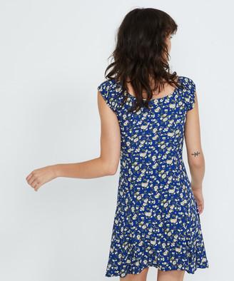 ROLLA'S Erin Rambling Rose Dress French Blue