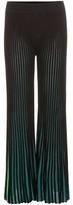 Kenzo Knitted Cotton-blend Trousers
