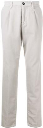 Paul & Shark Corduroy Straight-Leg Trousers