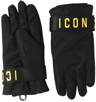 DSQUARED2 Icon Print Nylon Ski Gloves