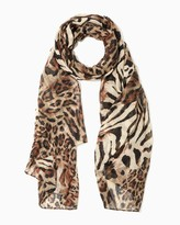 Charming charlie Wild About Leopard Scarf