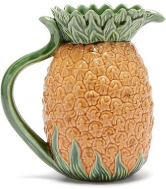Bordallo Pinheiro - Pineapple Earthenware Pitcher - Yellow